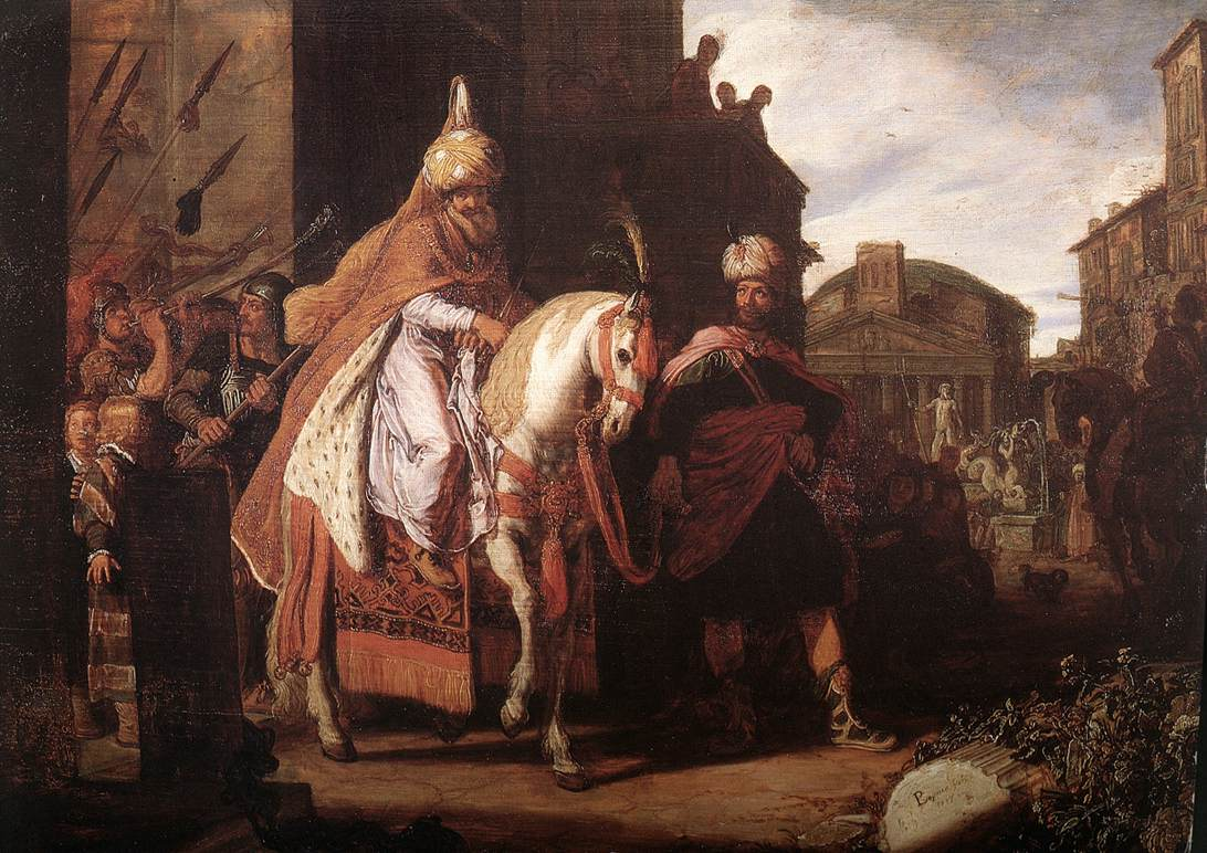 Pieter_Pietersz__Lastman_-_The_Triumph_of_Mordechai