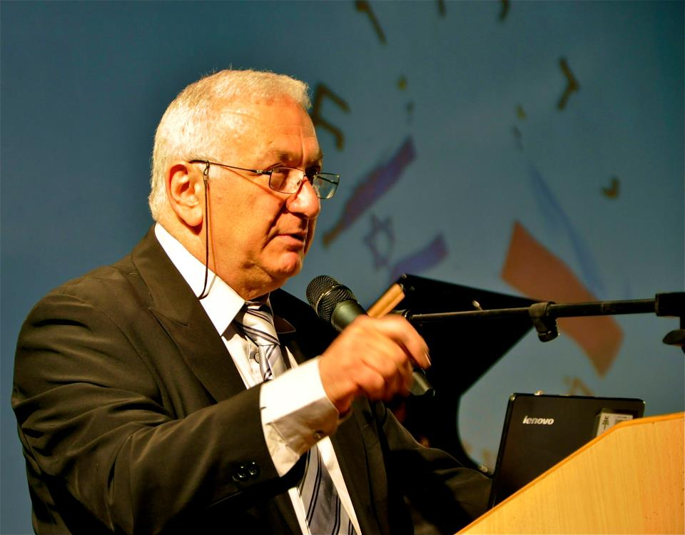 master of ceremony Mr. Arieh Golan