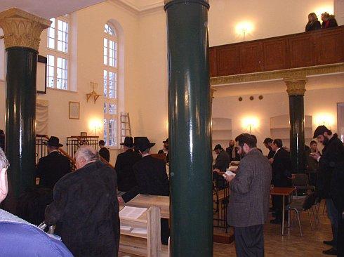 modlitwa  synagodze