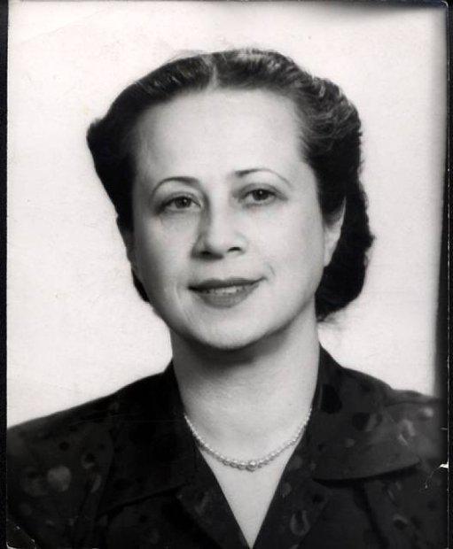 Portret Ireny Tuwim – fot. z natury: a.n., b.d. lata 1940-e