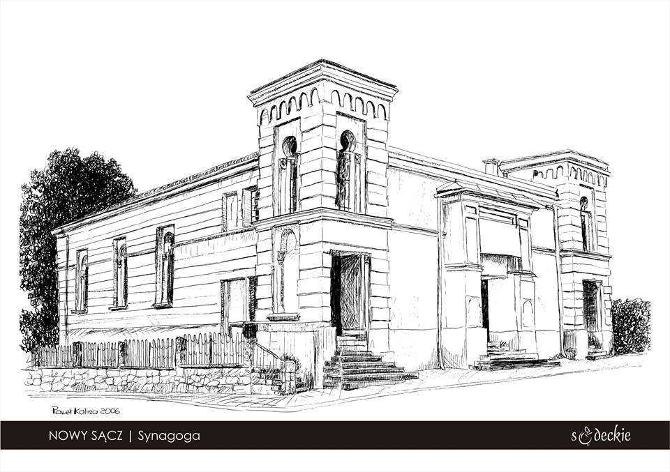nowy sacz synagoga