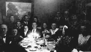 REMB 5 Wedding of Lola and Abram Rembiszewski Displaced Persons Camp Bergen- Belsen 1947 rev (1)