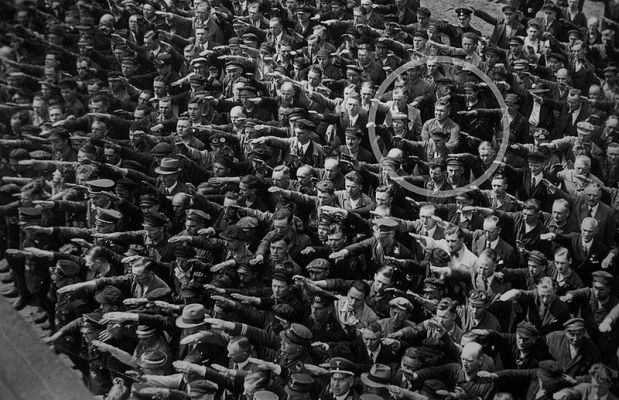 salut hitlerowi
